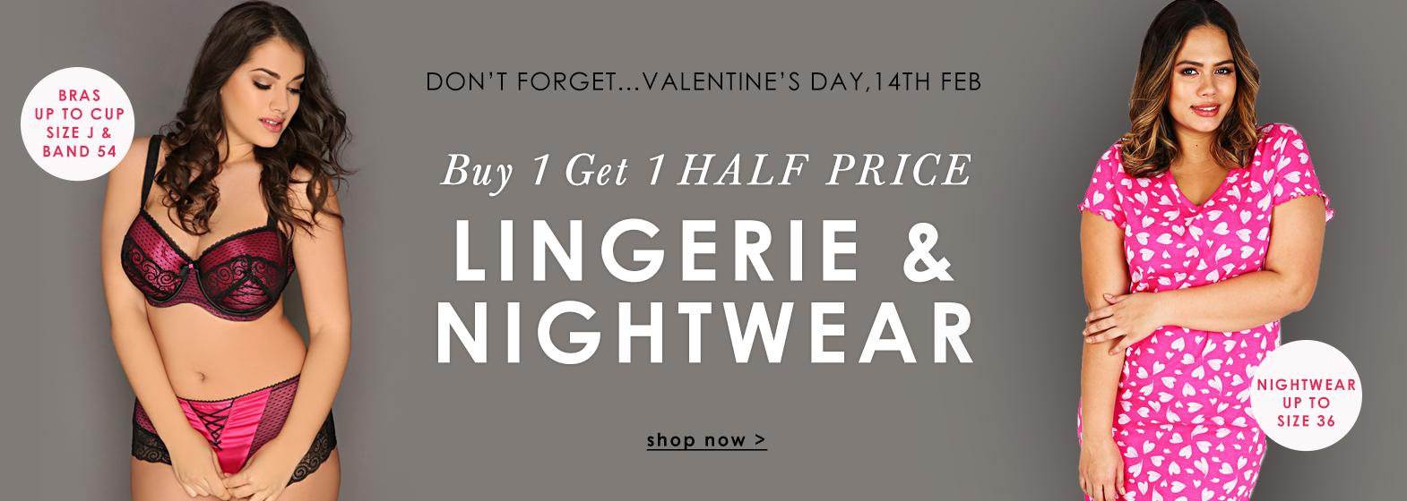 Buy 1 Get 1 Half Price >