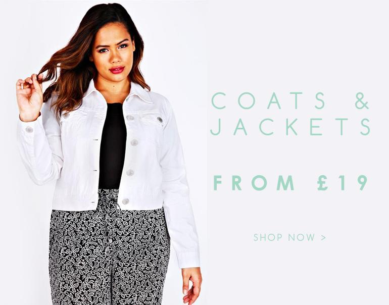 Shop Coats & Jackets >