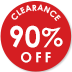 90% Off Selected