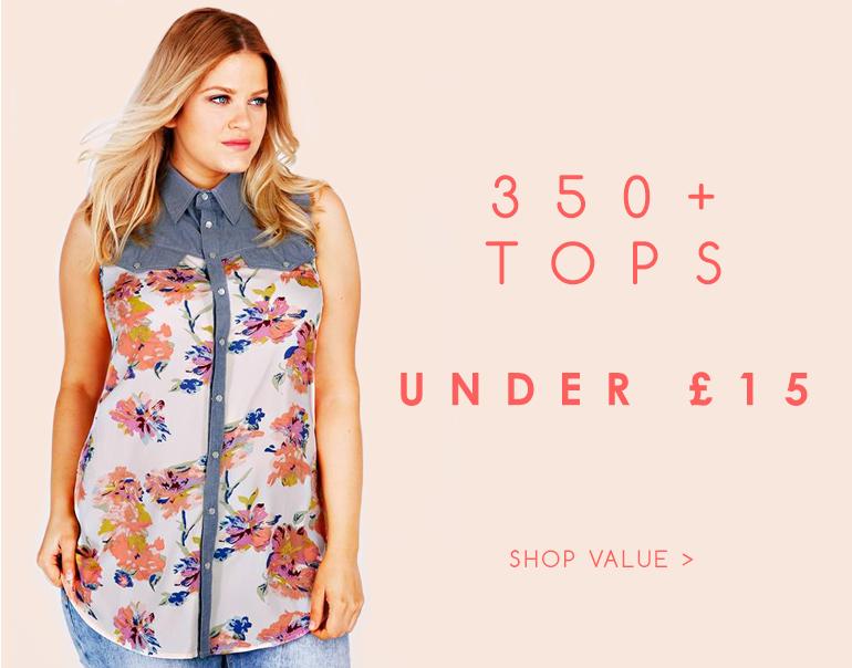Shop Value Tops >