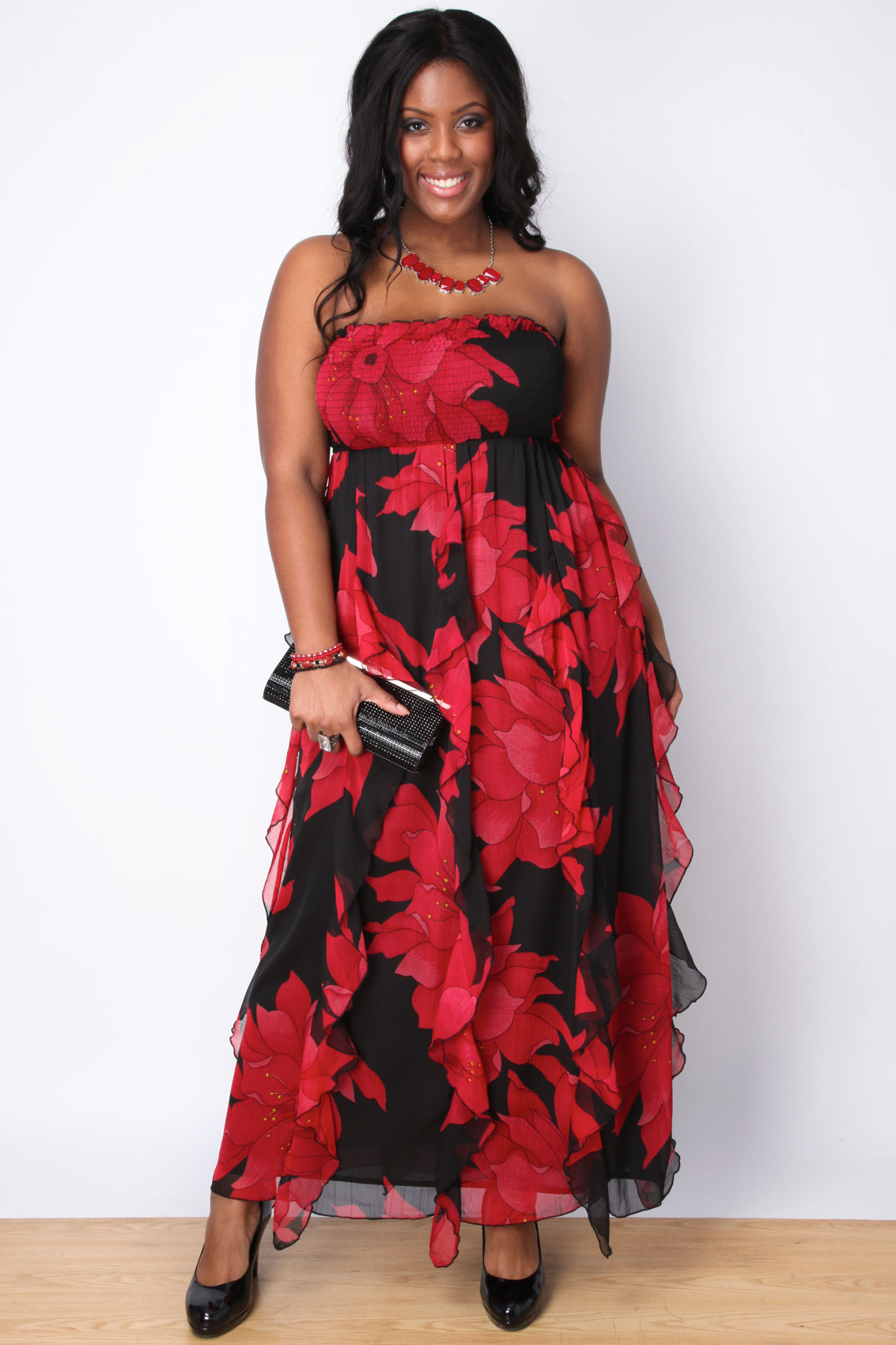 maxi dress history xing