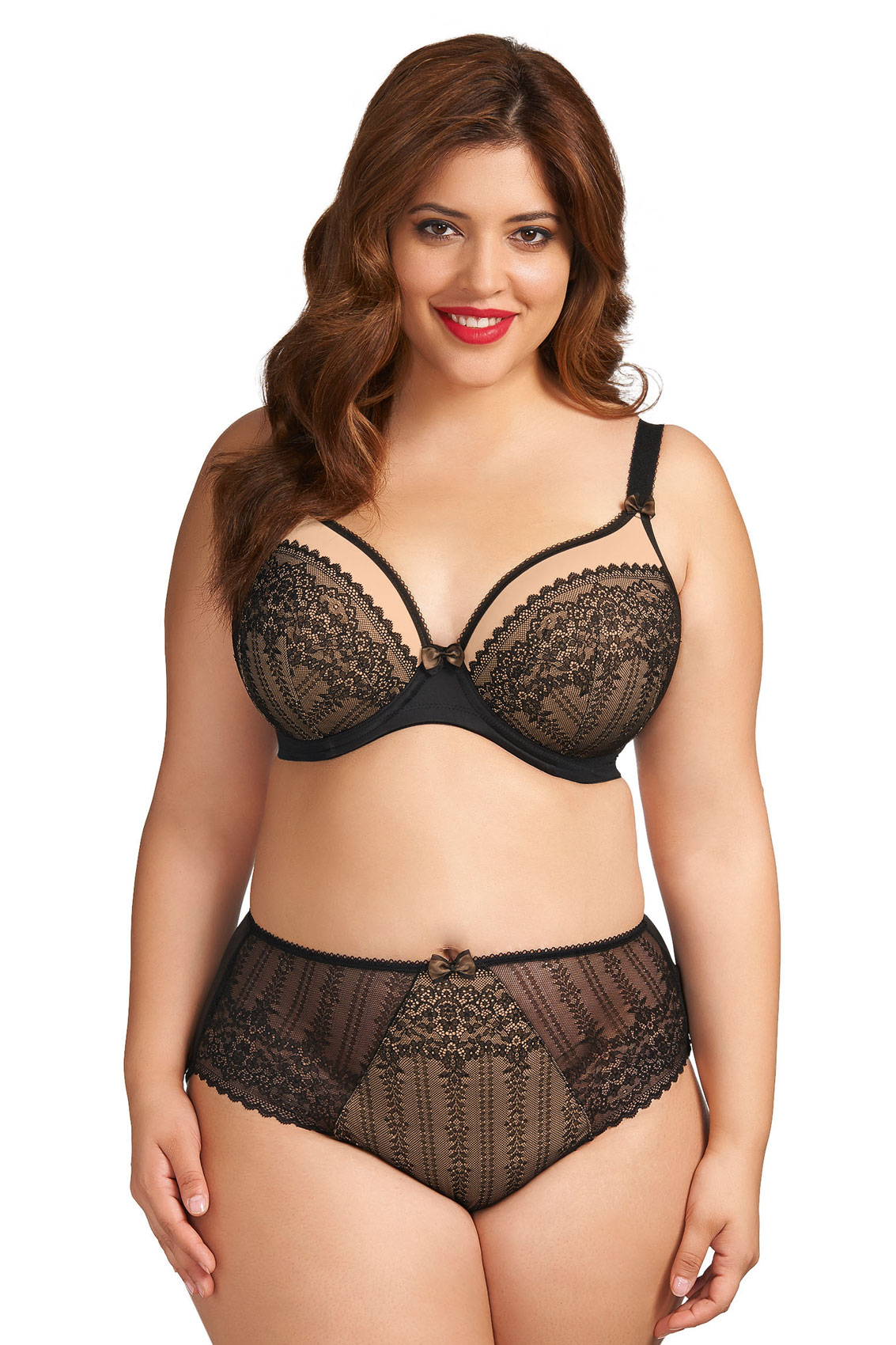 how to become a plus size bra model