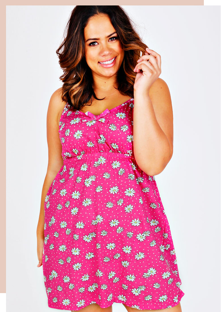 Plus Size Nightwear >