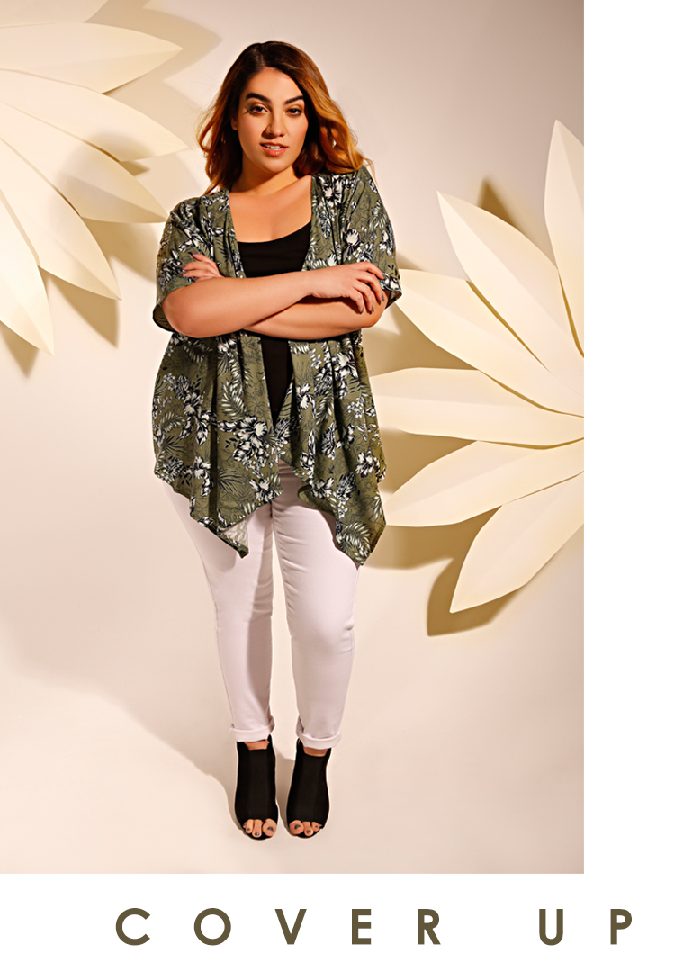 Cover Up with Kimonos and Cardigans in Sizes 16-36 >