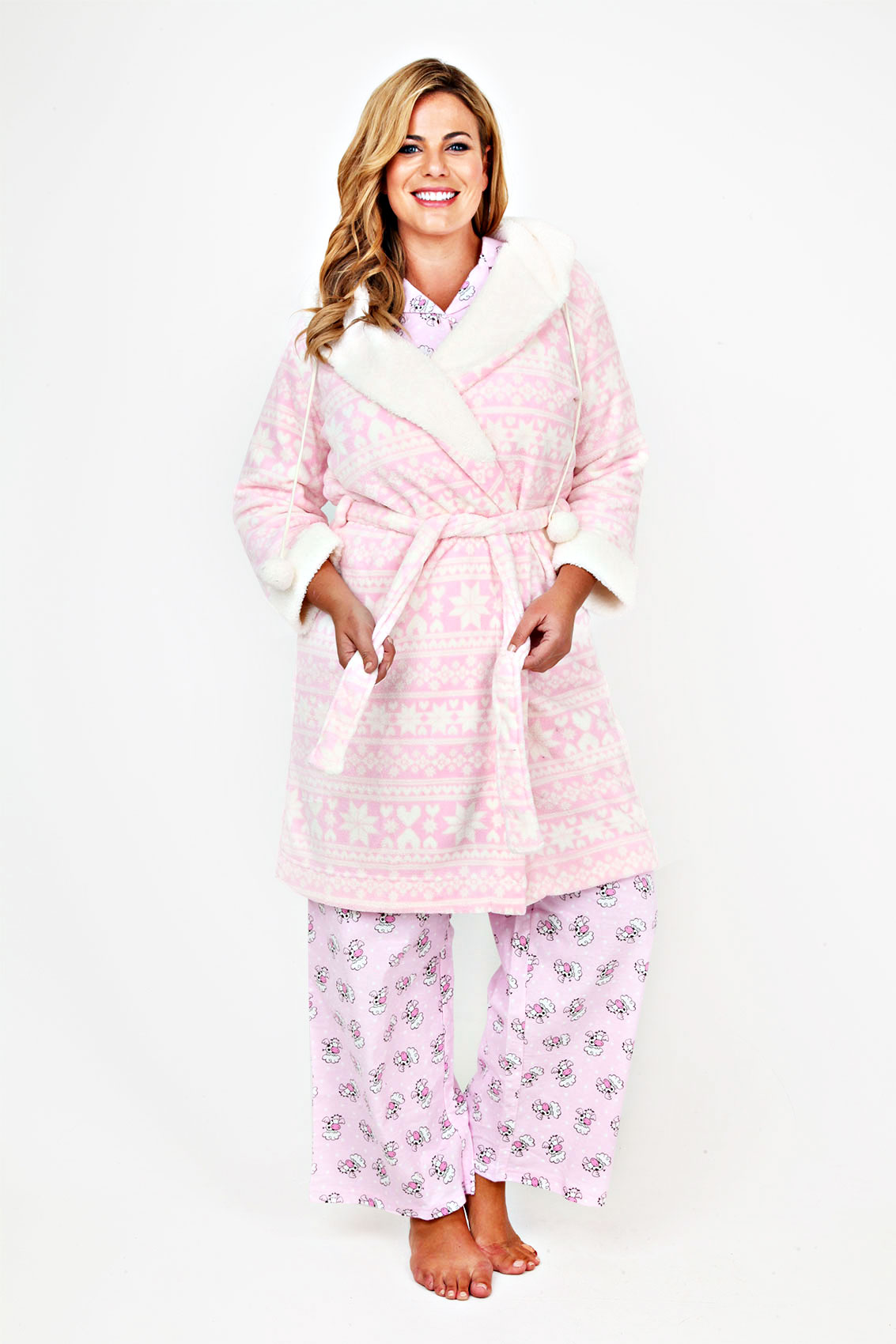 Buy Dressing gowns from the Womens department at Debenhams. You'll find the widest range of Dressing gowns products online and delivered to your door. Shop today! Light pink waffle trim dressing gown Save. Was £ Now £ Lands' End White womens plus classic terry robe Save. Was £ Now £ The Collection.