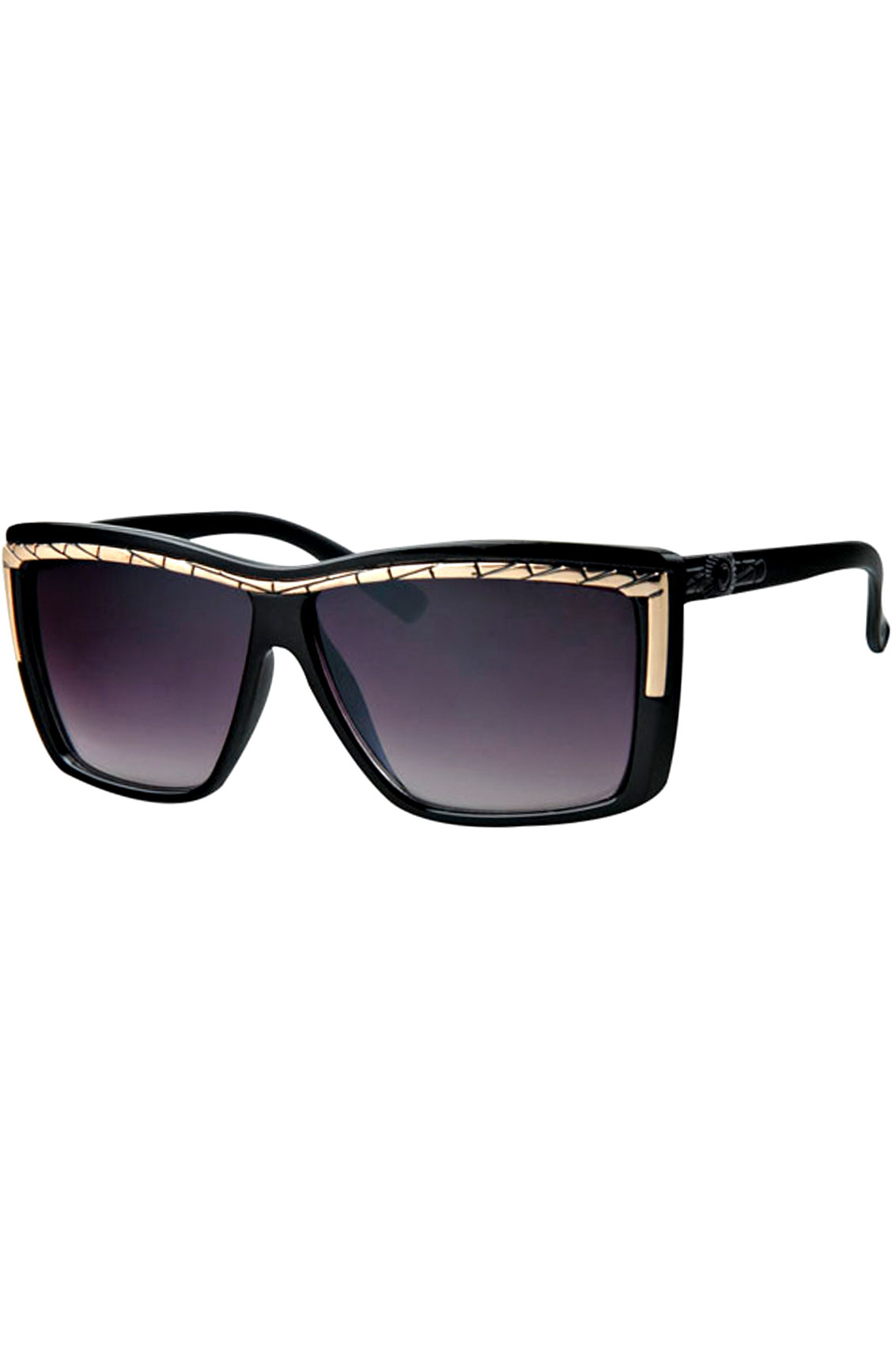 ASOS DESIGN aviator sunglasses in gold metal with mesh metal brow bar detail. $ ASOS DESIGN aviator sunglasses in black with smoke flash. $ ASOS DESIGN Aviator Sunglasses In Black Metal With Smoke Lens. $ AJ Morgan square aviator sunglasses in silver/blue. $