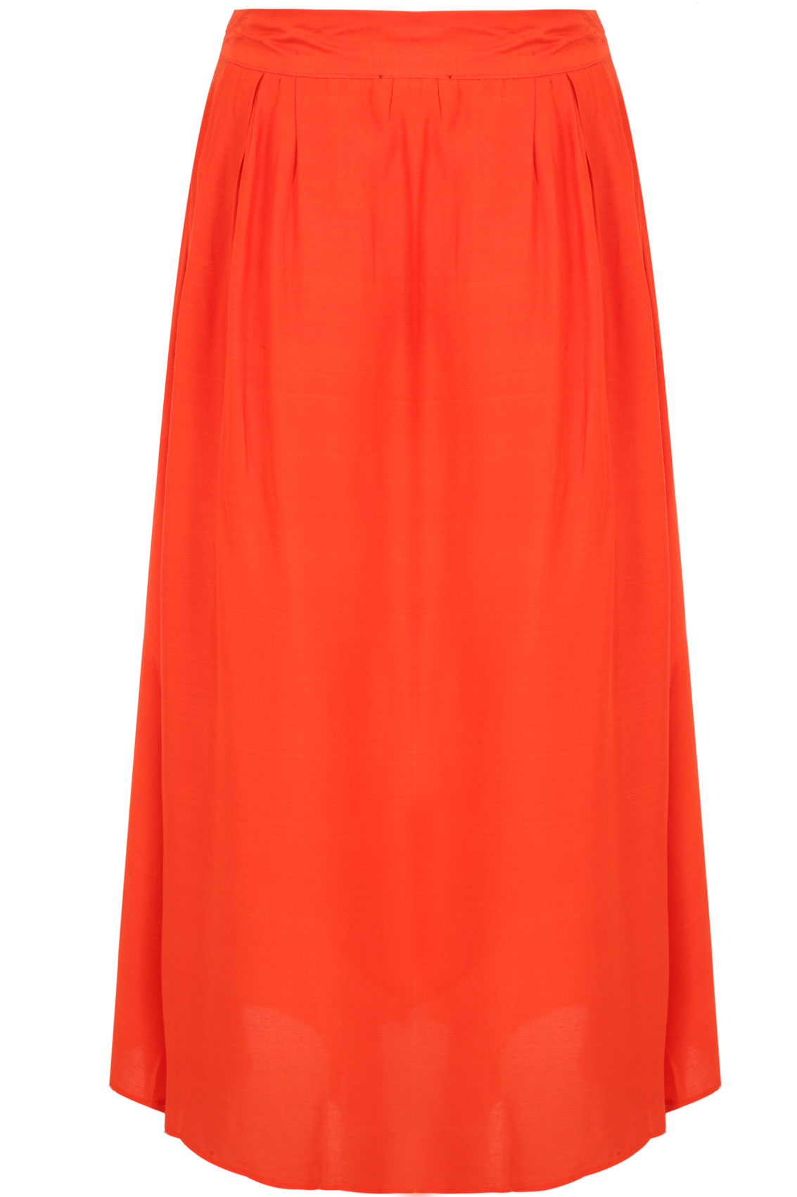 orange wrap maxi skirt plus size 14 16 18 20 22 24 26 28