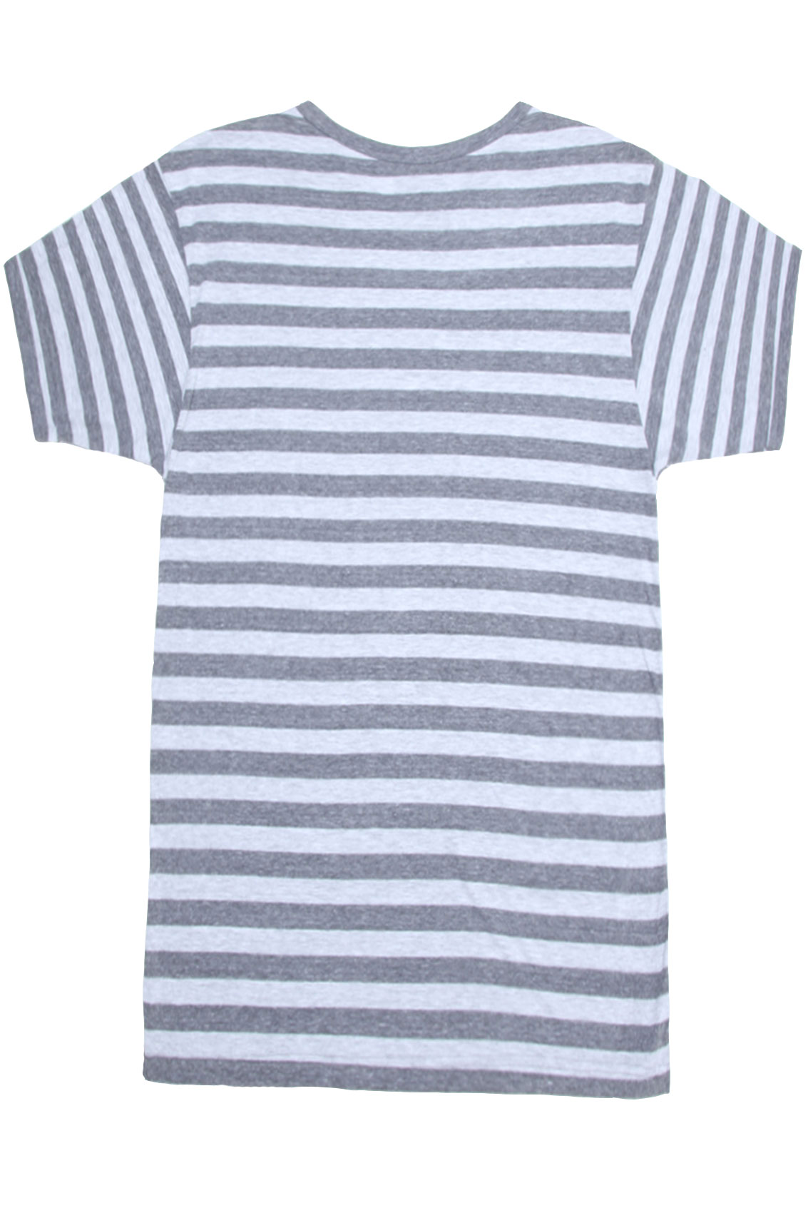 Disney couture grey marl striped mickey mouse math t shirt for Grey striped t shirt
