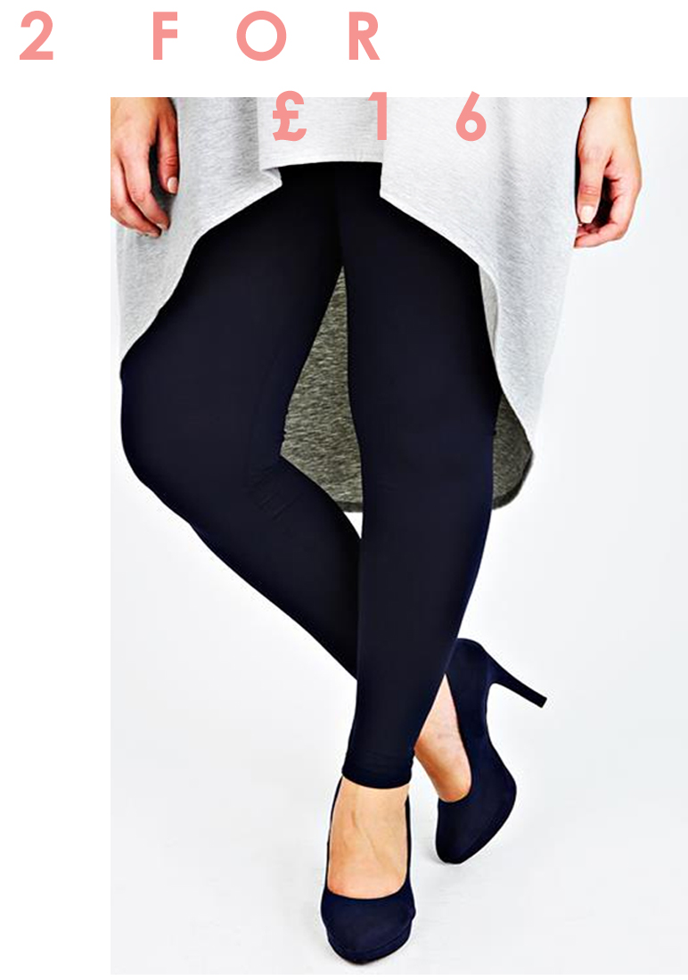 Two for £16 Full Length Leggings >