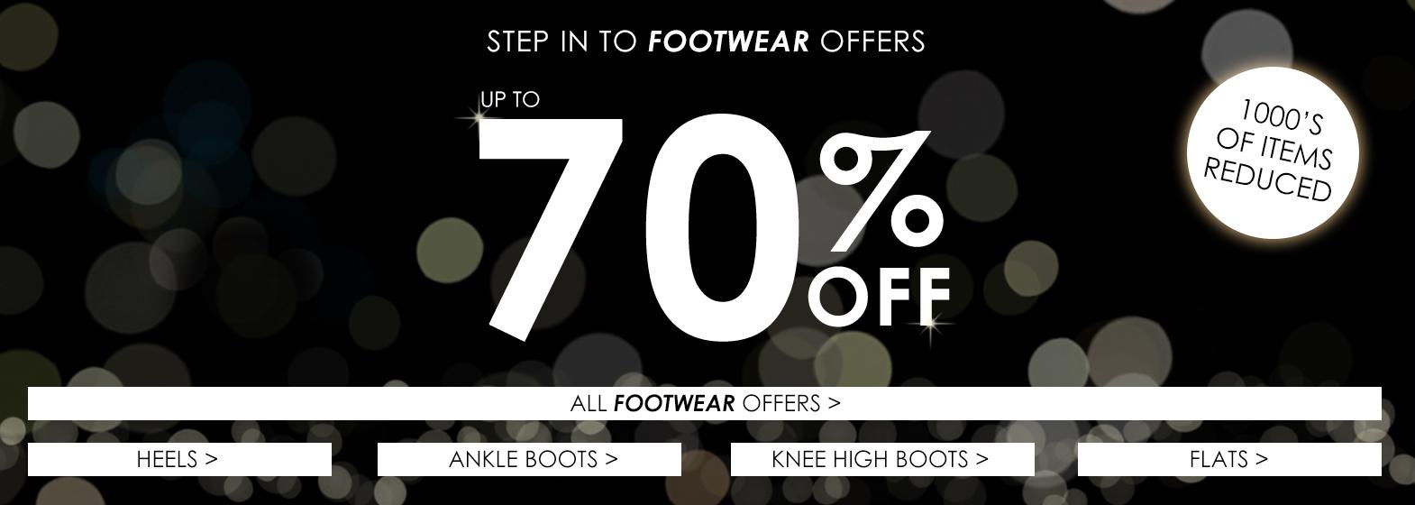 Black Friday Footwear Offers >