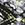 Black & Lime Diamond Print Jersey Harem Trousers