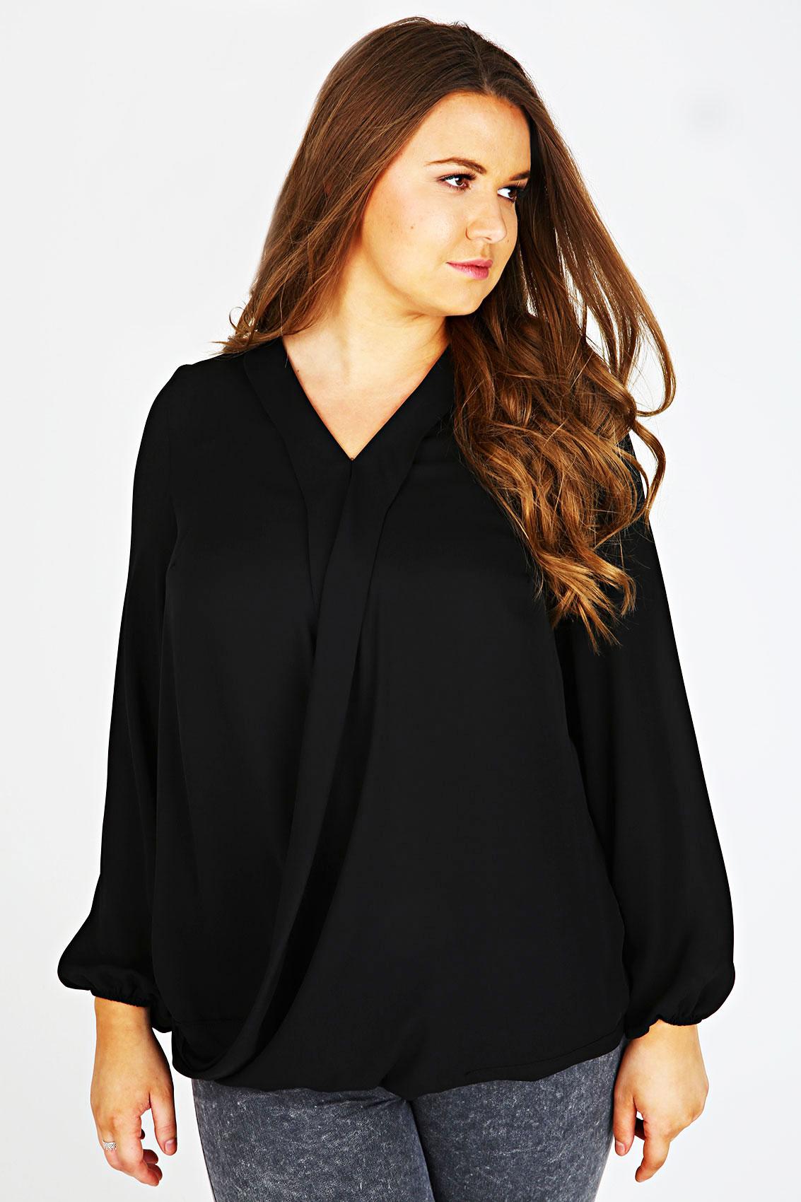Wrap Blouse Size 20 106