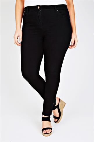 Black 5 Pocket Skinny Jeans