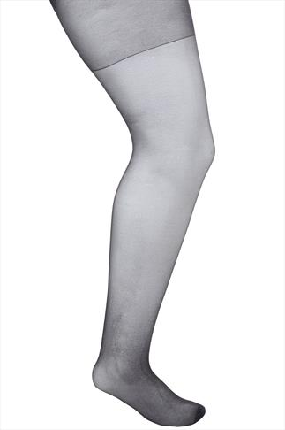 Barely Black 20 Denier Ladder Resist Tights - 3 Pack