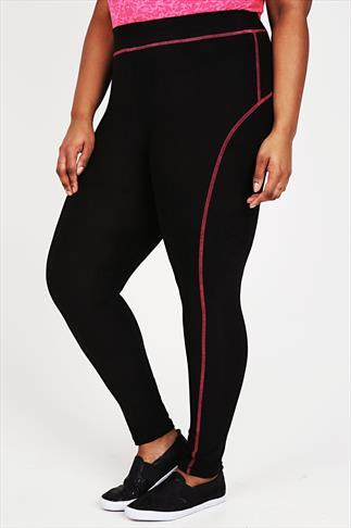 ACTIVE Black Sports Leggings