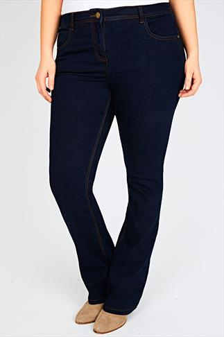 Indigo Bootcut 5 Pocket Denim Jeans