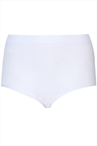 White Seamless Light Control Brief