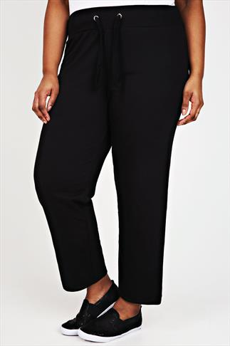 Westrock Bay Black Joggers With Elasticated Waistband