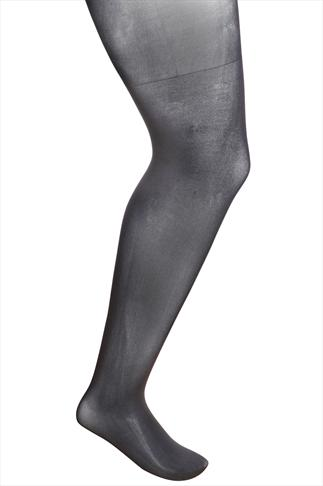 Black Opaque Lycra Xceptionelle 20d 3D Ladder Resistant Tights