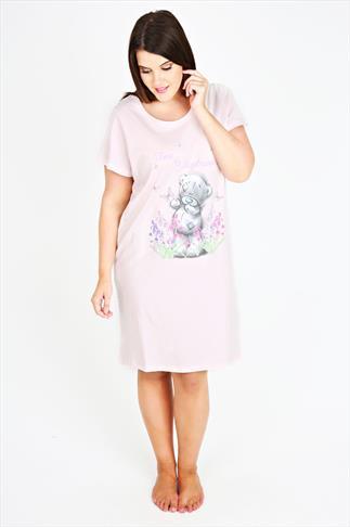 Light Pink Tatty Teddy Short Sleeve Nightdress