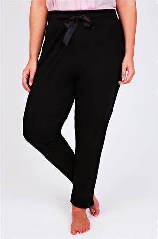Black Harem Full Length Pyjama  Bottoms