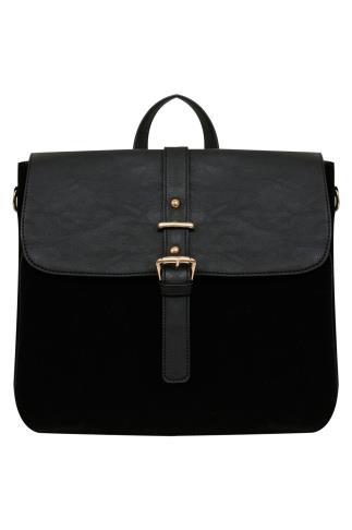 Black Multiway Shoulder Bag/Backpack