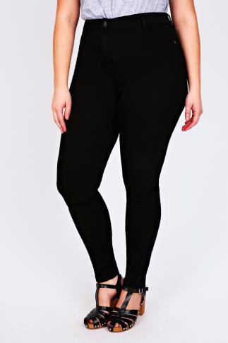 Black Super Stretch Skinny Jeans