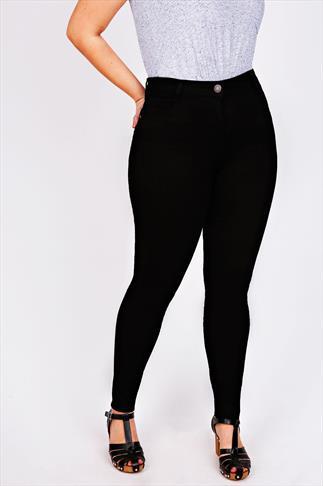 Black Super Stretch Skinny Jeans