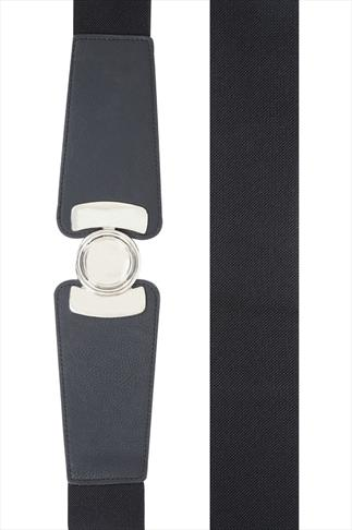 Round Clasp Stretch Belt