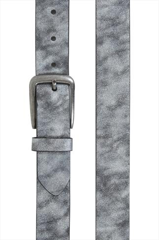 Silver Metallic PU Jean Belt