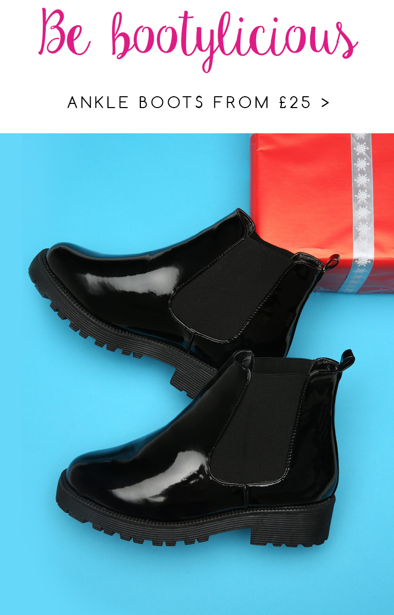 Ankle Boots up to Size 10 >