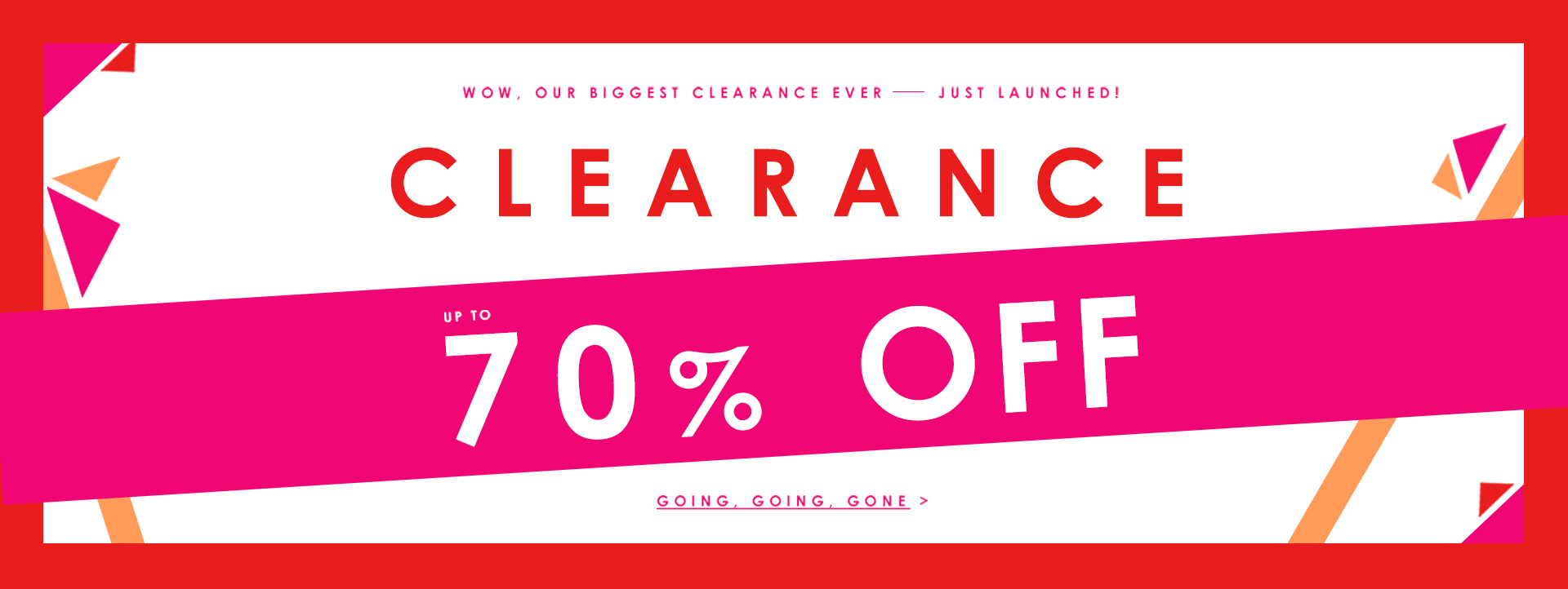 Save up to 70% off clearance sale at Yours Clothing.