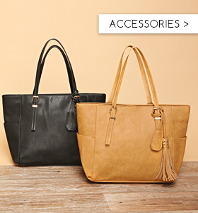 Accessories Bags from £5 Jewellery £4