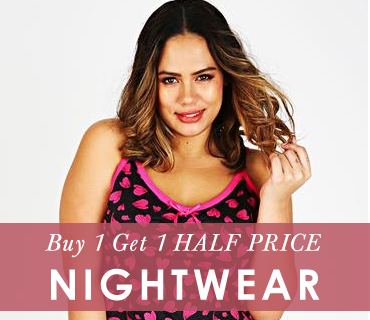 Buy 1 Get 1 Half Price Nightwear >