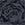 Black And Grey Rose Print Viscose Elastane Leggings