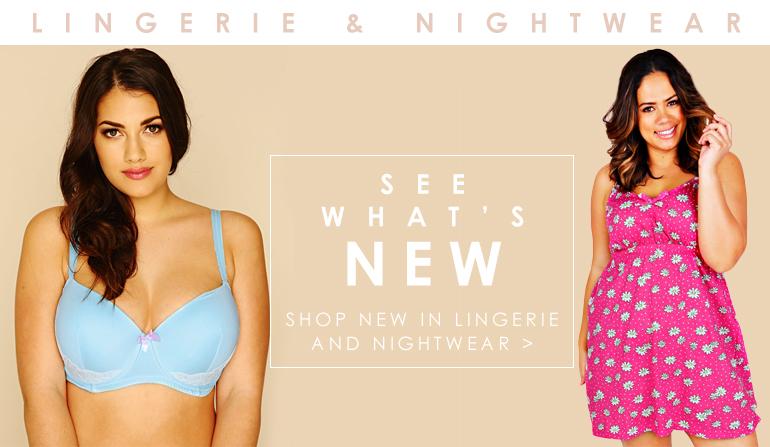Shop New In Lingerie & Nightwear